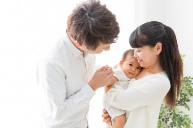 夫婦と赤ちゃん