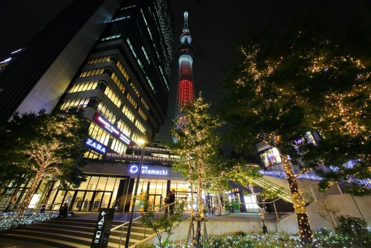 東京スカイツリータウン ドリームクリスマス2015