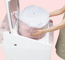 出し入れラクラクのヒミツ|洗濯機:シャープ